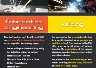 Brochure Design Inside Page